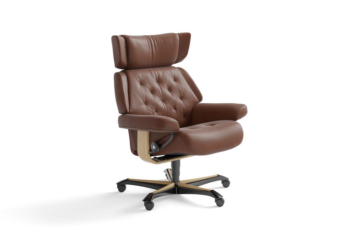 stressless skyline home office chair. Black Bedroom Furniture Sets. Home Design Ideas