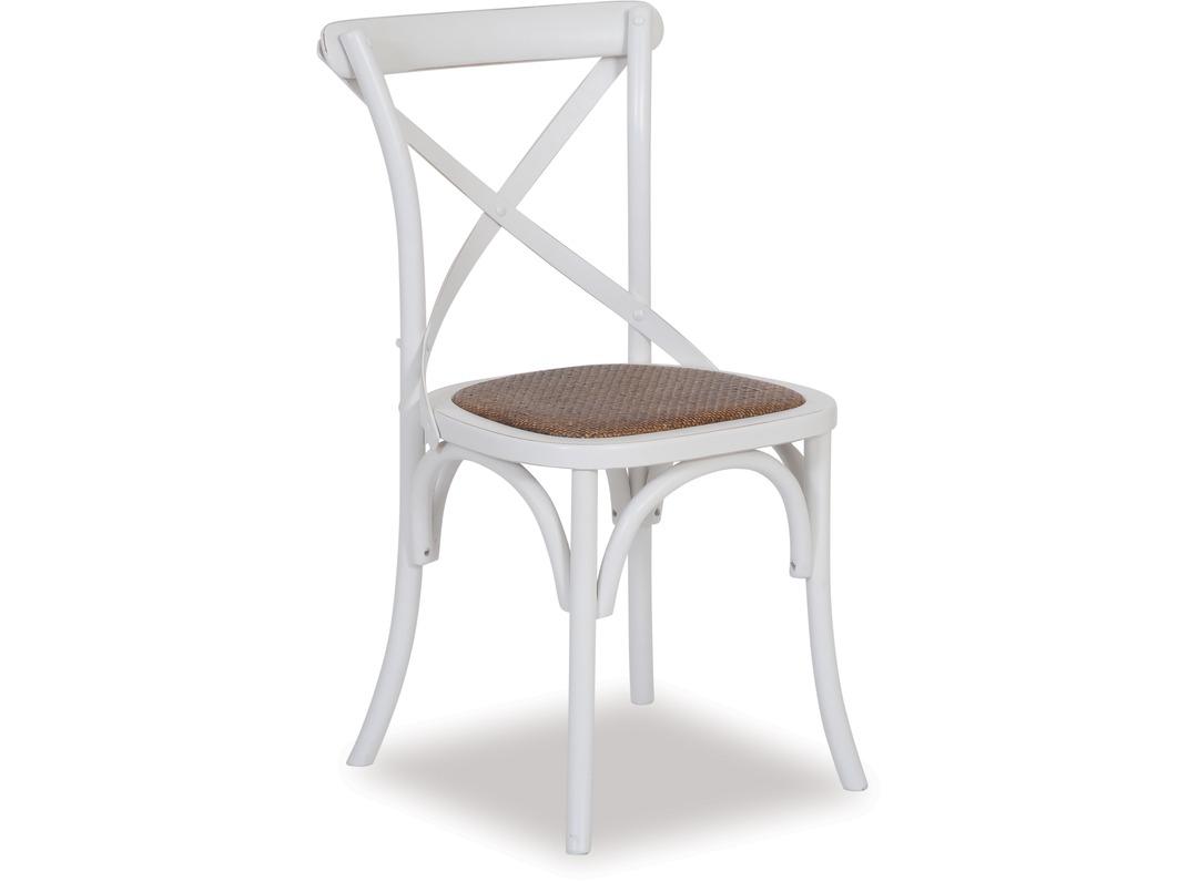 Cross dining chair