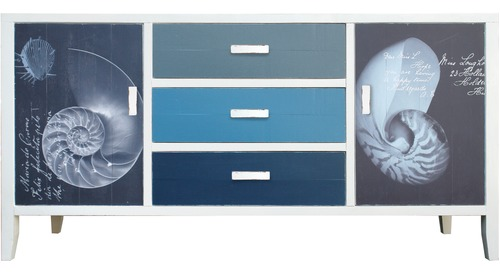 Neptune Shell Low Cabinet