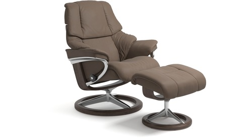 Stressless® Reno Leather Recliner - Signature Base