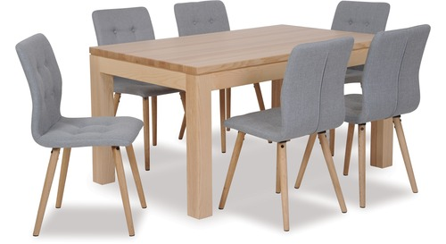 Modena Dining Table & Frida Chairs x 6