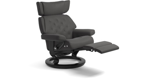 Stressless® Skyline Leather Recliner - LegComfort