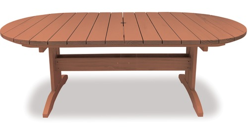 Eden 2200 Oval Extension Table