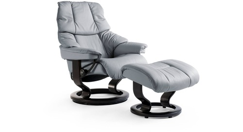 Stressless® Reno Leather Recliner - Classic Base