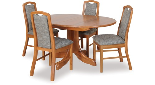 Casino Extension Dining Table & Madeira Chairs