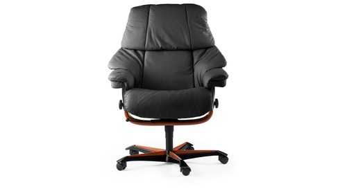 Stressless® Reno Leather Home Office Chair
