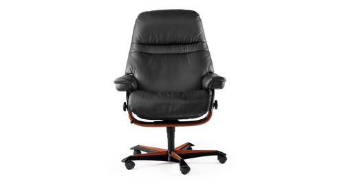 Stressless® Sunrise Leather Home Office Chair