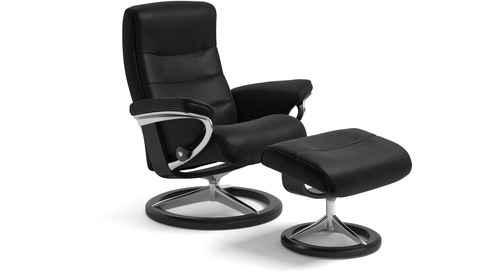 Stressless 174 Nordic Leather Recliner Signature Base 3