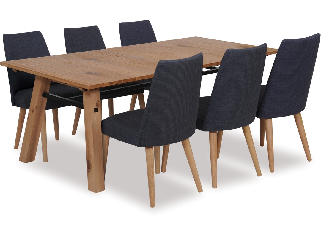 Stockholm 2100 Extension Dining Table Amp Norway Chairs X 6