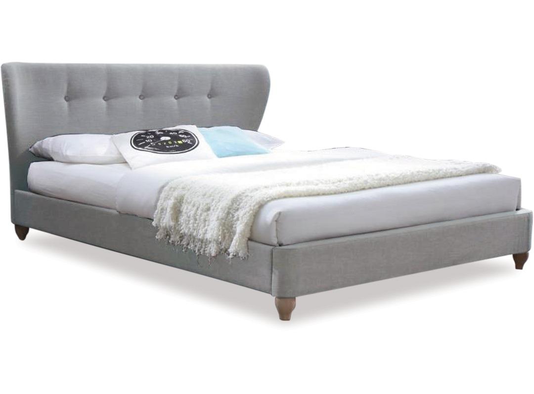Victoria slat bed frame headboard super king
