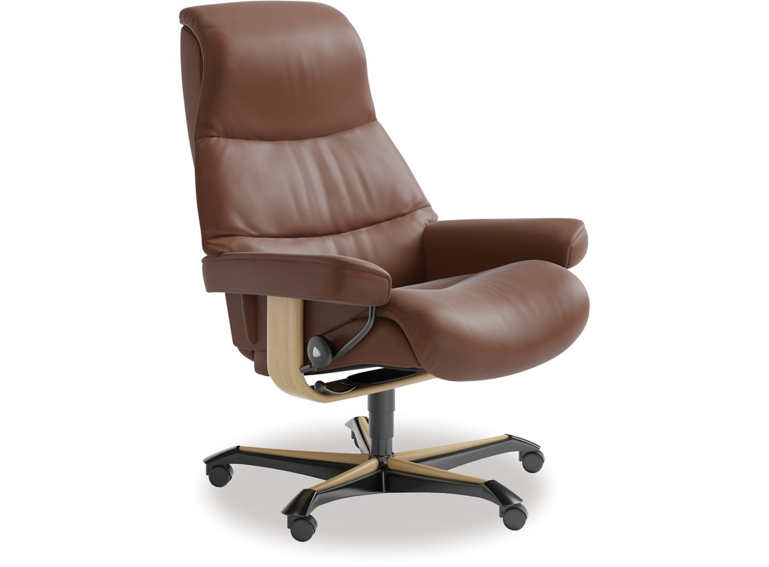 Stressless View Leather Home Office Chair
