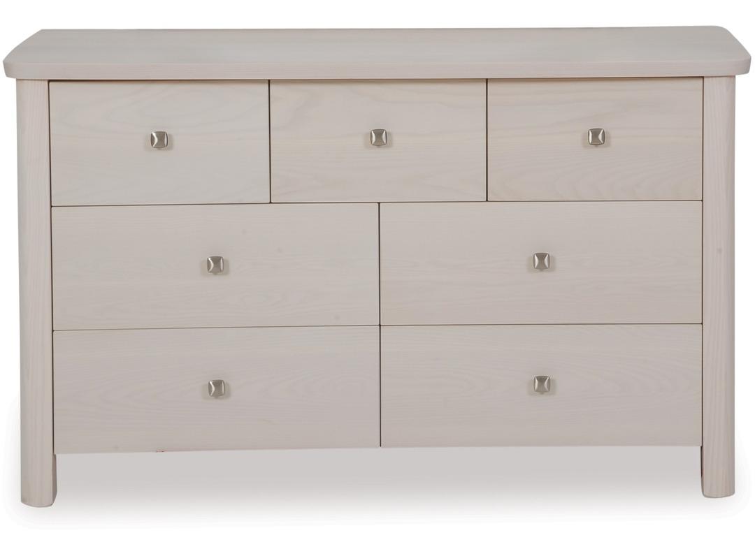 mid drawer dresser lowboy modern century chicago danish