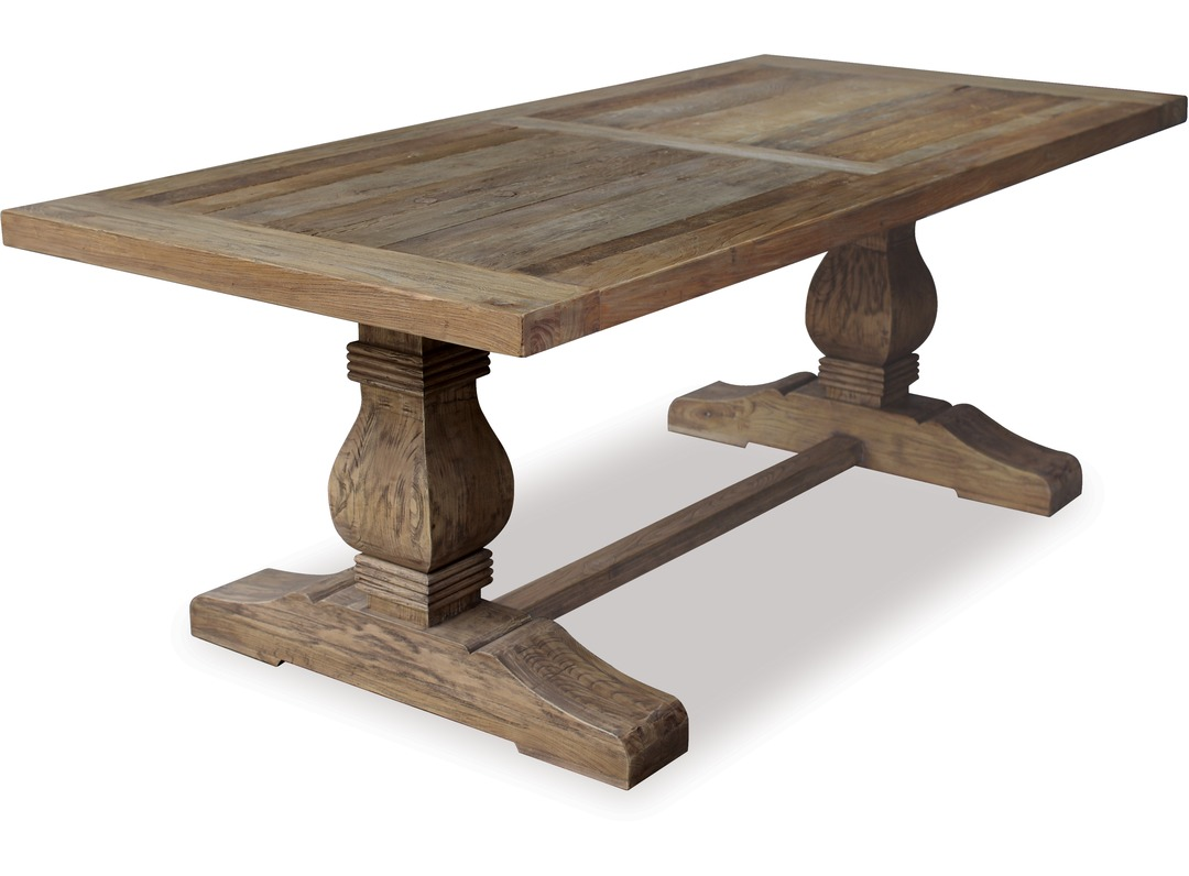 Old Elm Dining Table