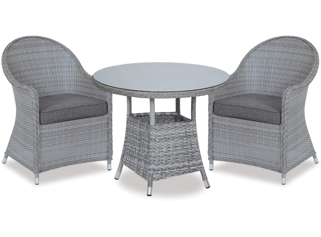 Cabo Patio Furniture.Baja 740 Round Outdoor Table Cabo Outdoor Chairs X 2