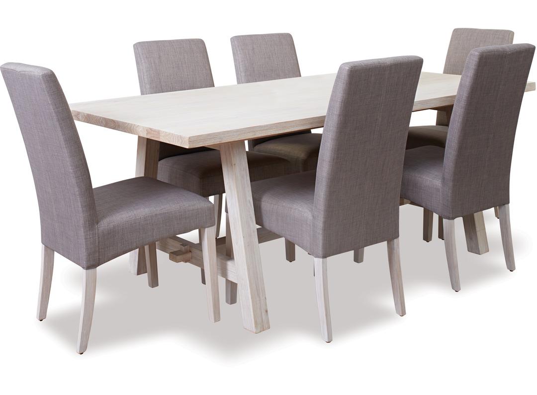Ocean Grove Trestle Dining Table Grove Chairs X 6
