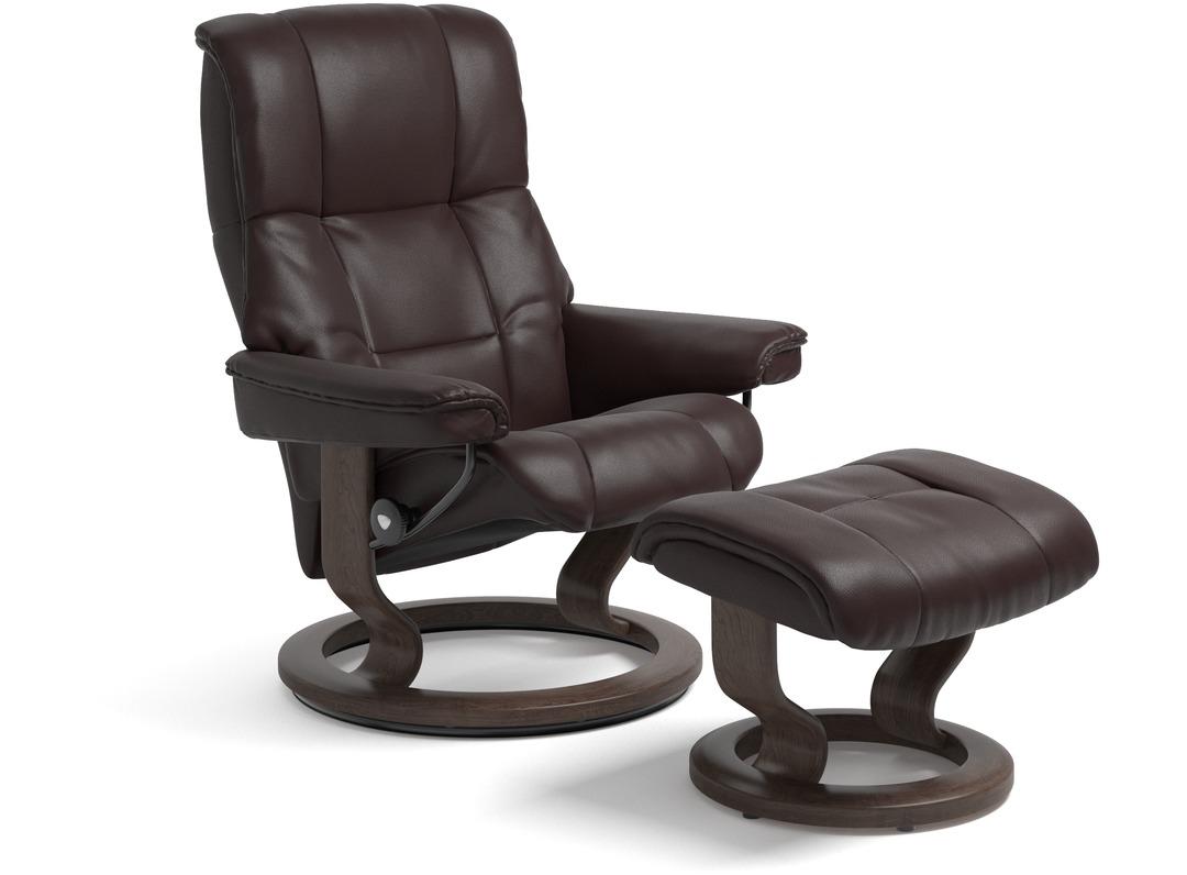 Stressless 174 Mayfair Leather Recliner Medium Classic