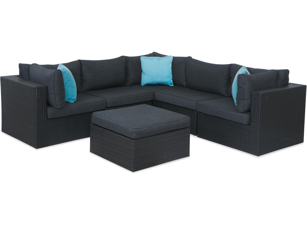 Mode 9-pce Corner Outdoor Lounge Suite - Danske Møbler