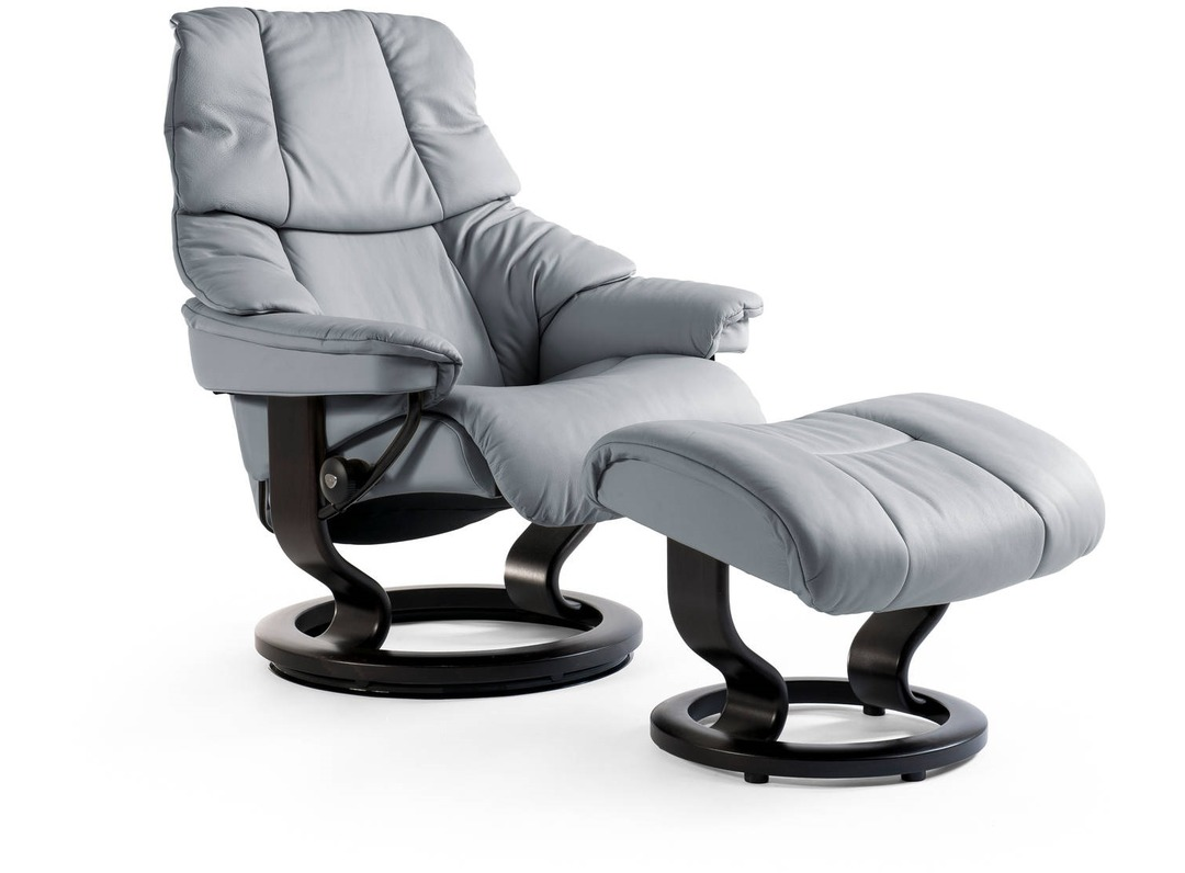 Stressless 174 Reno Leather Recliner Classic Base