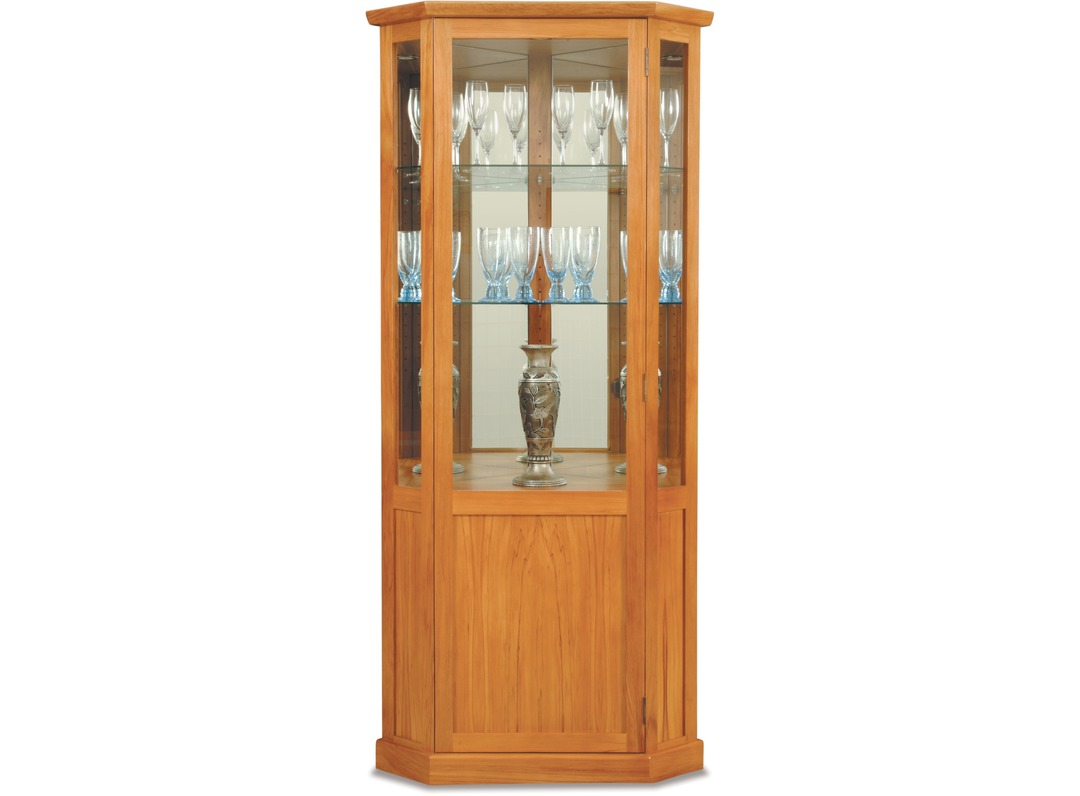 venice corner china cabinet | wall units china cabinets | display ...