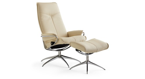 Stressless® City Leather Recliner - High Back/Star Base  sc 1 st  Danske Mobler : stressless recliner nz - islam-shia.org