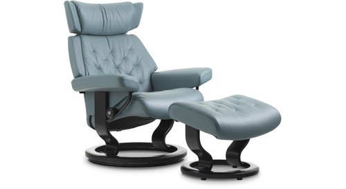 Stressless® Skyline Leather Recliner - Classic Base