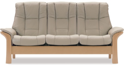 Stressless® Windsor 3 Seater Lounge Suite - High Back