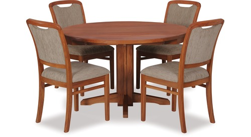 Avondale Double Drop Leaf Dining Table Melody Chairs