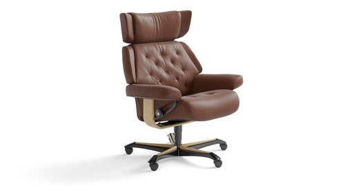 Stressless® Skyline Leather Home Office Chair