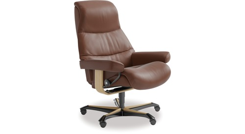 Stressless® View Leather Home Office Chair