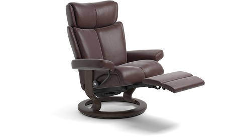 Stressless® Magic Leather Recliner - LegComfort