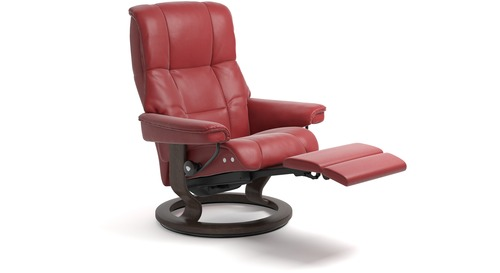 Stressless® Mayfair Leather Recliner - LegComfort