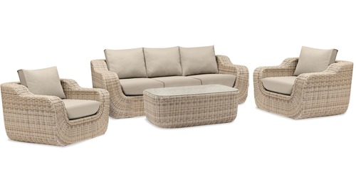 Maltese 4-pce Outdoor Lounge Suite