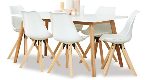 Turin 1600 Dining Table & Dima Chairs x 6
