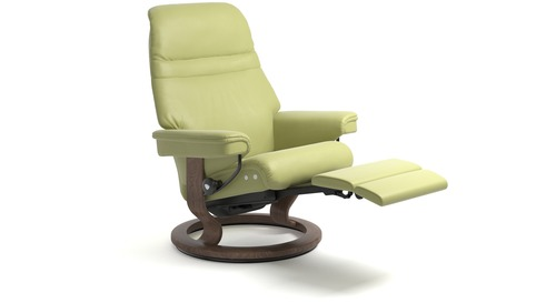 Stressless® Sunrise Leather Recliner - Medium - LegComfort - Special Buy