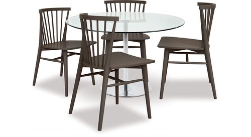 Becky Dining Table & Requin Chairs x 4