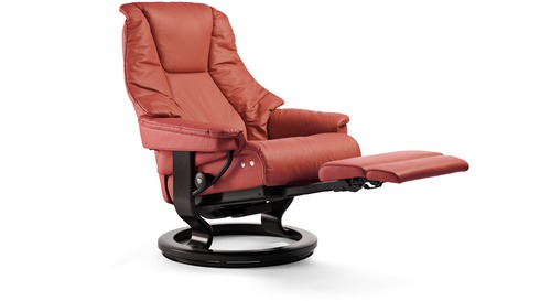 Stressless® Live Leather Recliner - LegComfort
