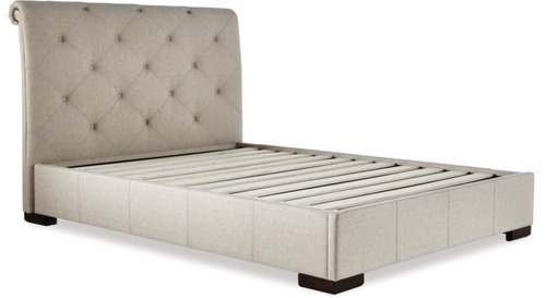 Memphis Slat Bed Frame & Headboard - Queen