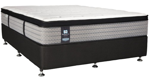 Sealy Premium Montreal Plush -  Queen Mattress & Base