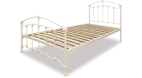 Amelie Slat Bed Frame & Headboard - King Single