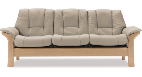 Stressless® Windsor 3 Seater Lounge Suite - Low Back