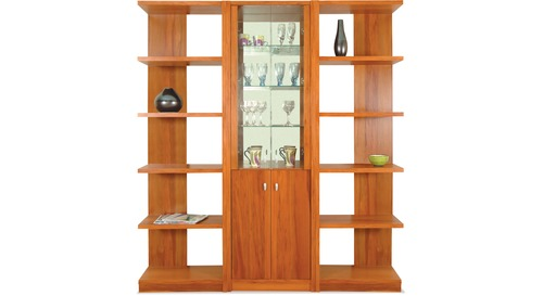 Discovery Slim China Cabinet & 2100 Modular Bookcases