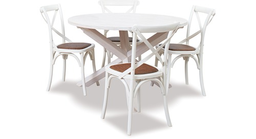 Ocean Grove 1200 Dining Table & Cross Chairs x 4