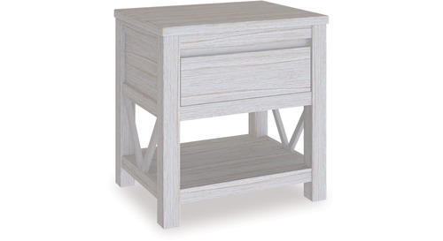 Coastal 1 Drawer Bedside