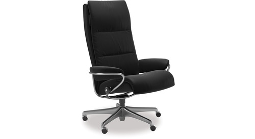Stressless® Tokyo Leather Home Office Chair - High Back