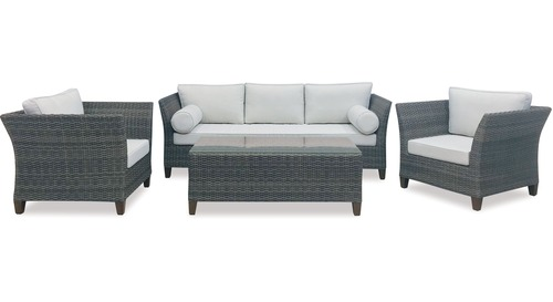 Malibu 4-pce Outdoor Lounge Suite