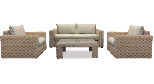 Marbella 4-pce Outdoor Lounge Suite
