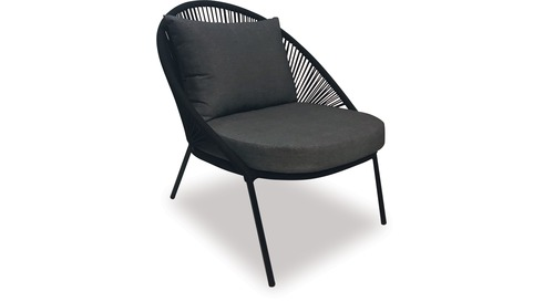 Alfresco Zadar Rope Lounge Chair