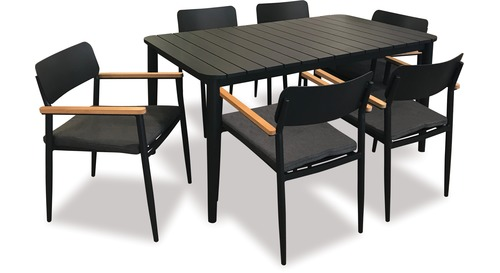 Piha Outdoor 7-pce Dining Setting