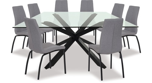 Heaven Dining Table & Asama Chairs x 8
