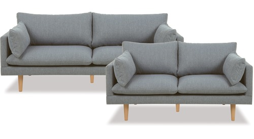 Sunderland 3 Seater + 2 Seater Lounge Suite